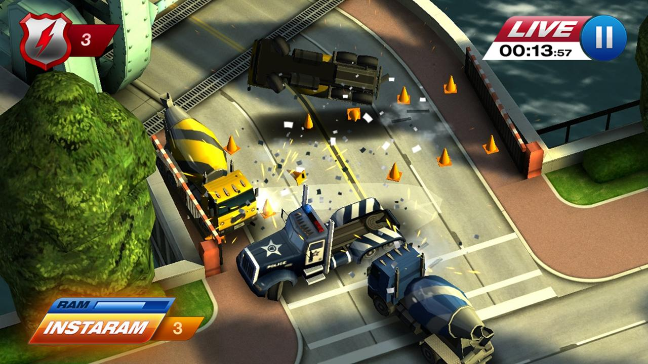 Smash Cops Heat game cực hay cho android 4.2c