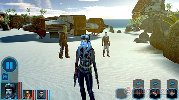 Star Wars: Knights of the Old Republic lên kệ android4