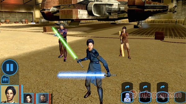 Star Wars: Knights of the Old Republic lên kệ android2
