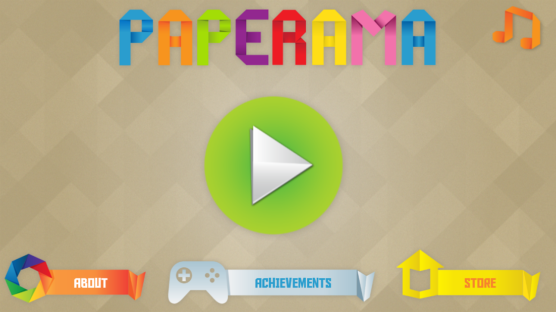 Paperama game nghệ thuật cho android 4.2