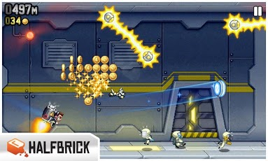 Jetpack Joyride game cực hay cho android 4.2