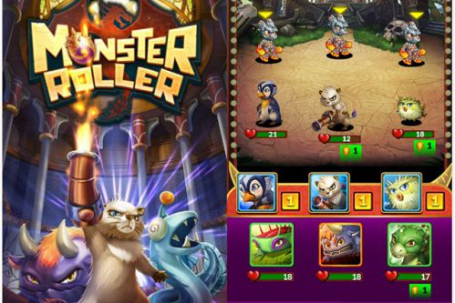 monster-roller-game-nhap-vai-quay-tay-len-song-android 1