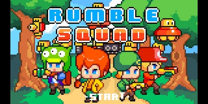 Rumble Squad: Game offline giữa Mario và Contra cho Android 1